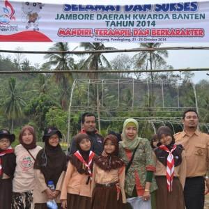 kwarran Tigaraksa ikutan Jambore Daerah Banten